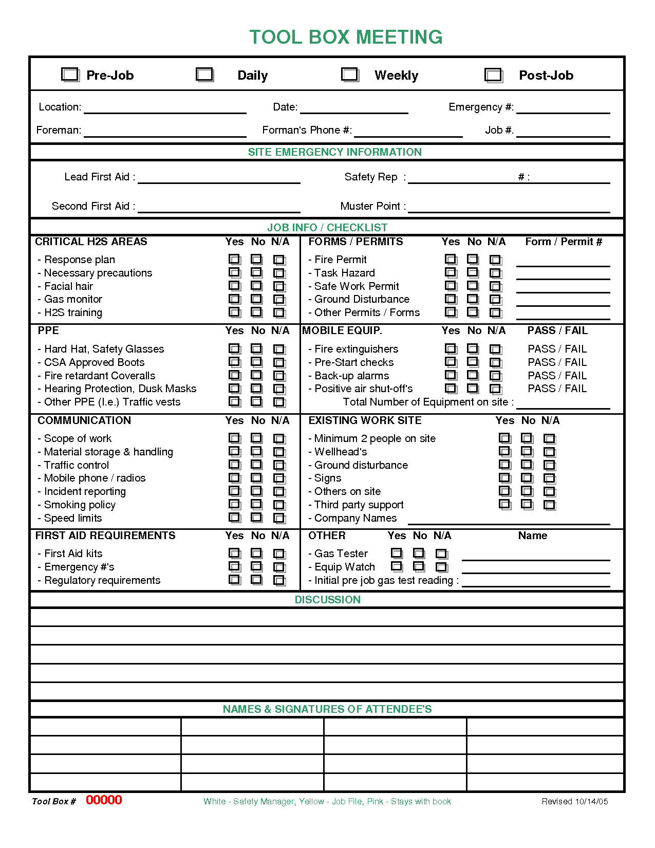 Meeting Checklist Template Images