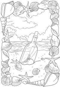 Welcome to Dover Publications - BLISS Seashore Coloring ...