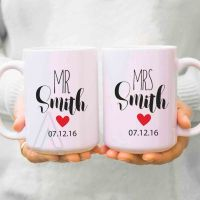 couple gifts, wedding gifts for couples, his and hers mugs ...