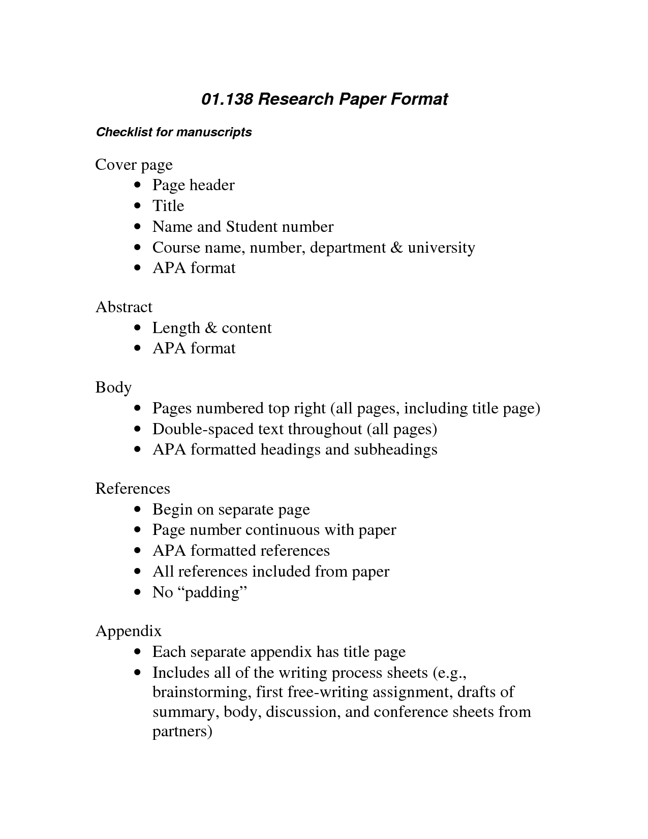 Essay Writing Apa Format Interview Paper Apa Format Example 3667