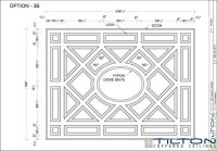Coffered Ceiling Design Drawing - Bespoke 19 | Ideas for ...