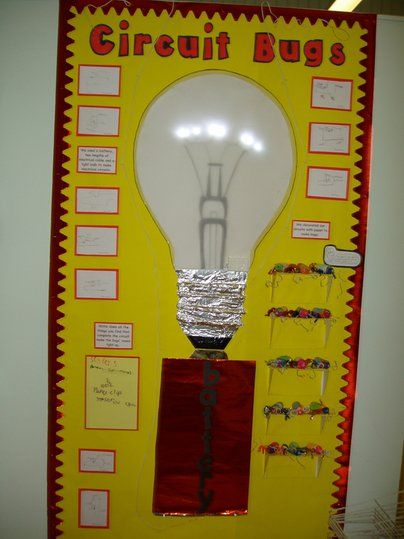 Battery And Light Bulb Project