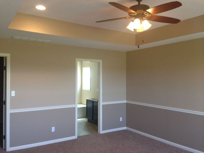 Two Tone Paint Jobs On Walls Toned Pinterest