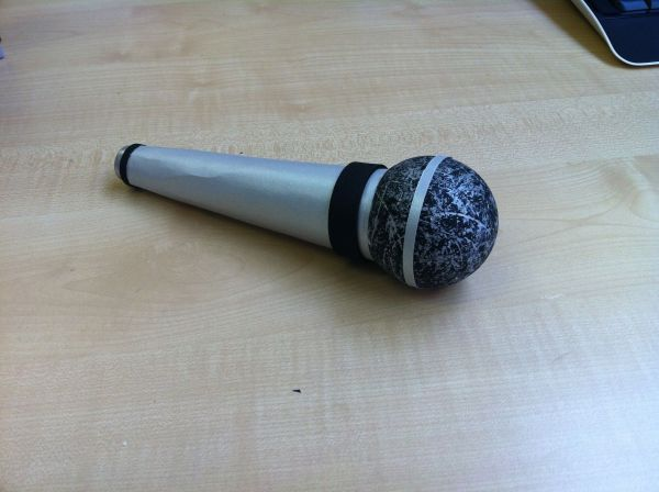 How To Make A Craft Microphone Vtwctr