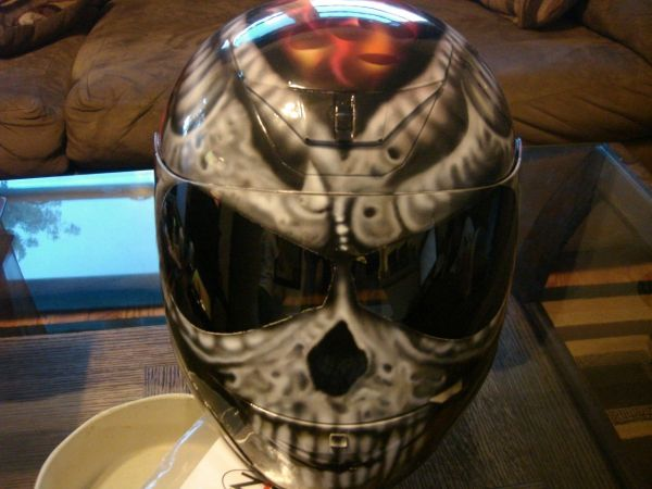 Airbrushed Helmets Custom Motorcycle