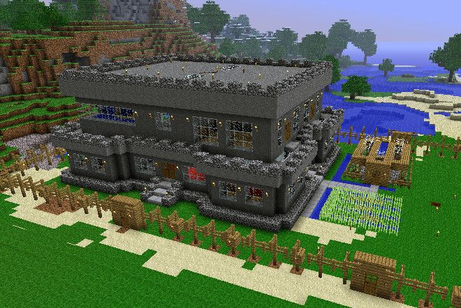 Minecraft House Designs Xbox 360 HomeAllinfo HomeAllinfo