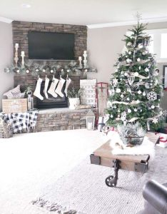 christmas home decorating ideas to bag complements entire holiday season also rh pinterest
