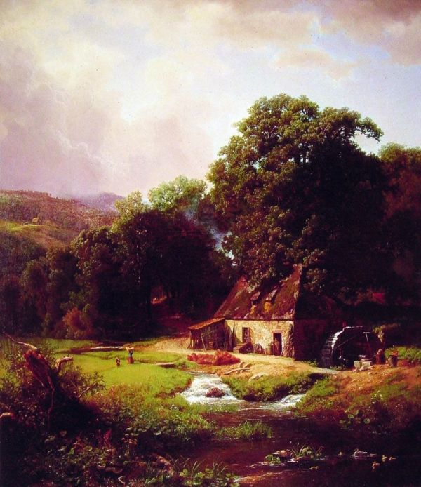 Landscape Oil Painting World