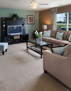 Interiors also nice color scheme great room living rooms warm  cool combo rh pinterest