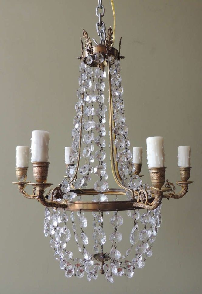1790 S English Regency Chandelier From A Unique Collection Of Antique And Modern Chandeliers Pendants