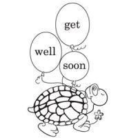 Get Well Soon Print and Color Greeting Card | Parenting ...