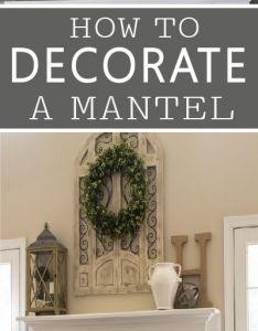 Decorating  mantel is easier than you think with these simple tips ideas pinterest mantels and easy also rh