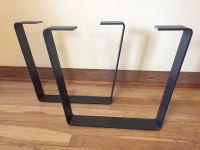 Metal Coffee Table Legs - w/CLEARCOAT- Steel FlatBar ...