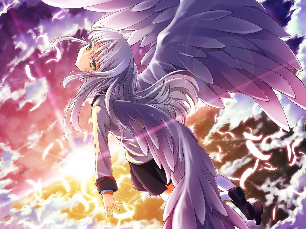 Pretty Falling Angel Wallpaper 1920x1080 Konachan Angel Beats Anime And Manga Stuff Pinterest