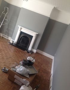 My living room in farrow and ball manor house grey also best images about interior paint on pinterest light walls rh