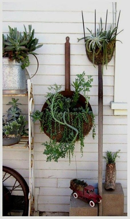 17 Best Images About Fun Flower Containers On Pinterest Gardens