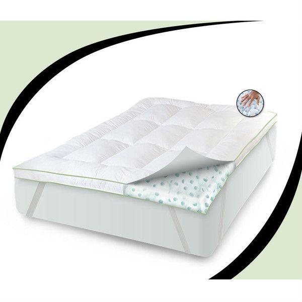 Full Size 3 Inch Thick Memory Foam Cers Fiber Fill Mattress Topper