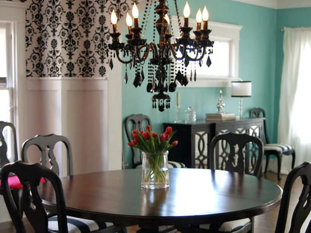 Tiffany Black Chandelier My Dinning Room When I M Done