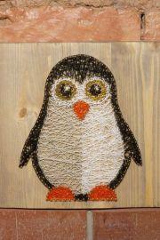 nursery decoration penguin string