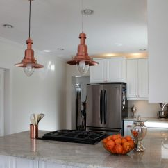 Copper Pendant Light Kitchen Cabinets St Louis Ikea Hack How To Turn An Ottava 30 00 Into A