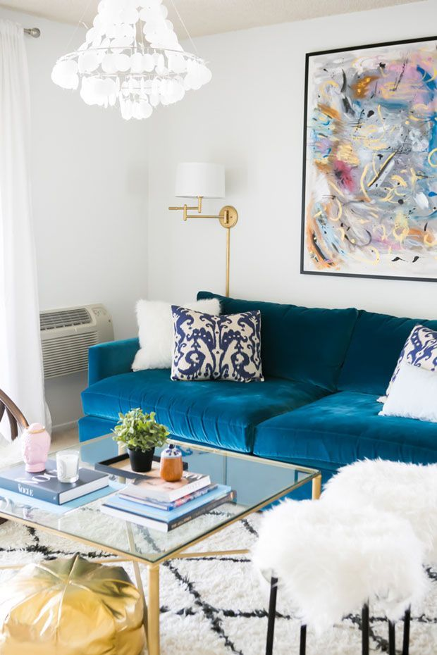 Living room of actress katherine vo via sarah sarna decorating ideas style also rh pinterest