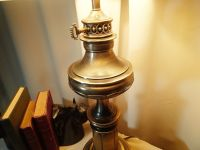 Vintage Stiffel Brass Lamp with Original Stiffel Lamp