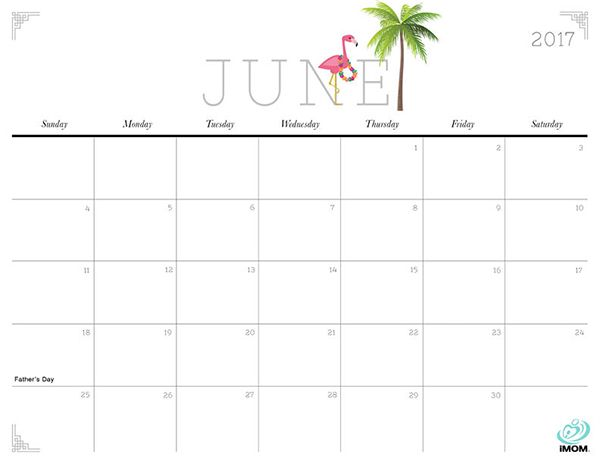 Cute Printable Calendars Month