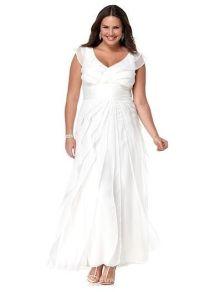 Cheap Plus Size White Summer Dresses - Discount Evening ...