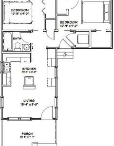 tiny houses sq ft pdf floor by excellentfloorplans also teeny rh cz pinterest