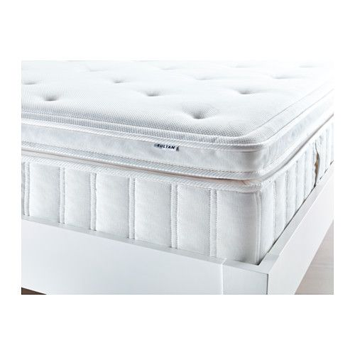 Enjoy A Restful Night S Sleep With Memory Foam And Pillow Top Spring Mattress From Ikea
