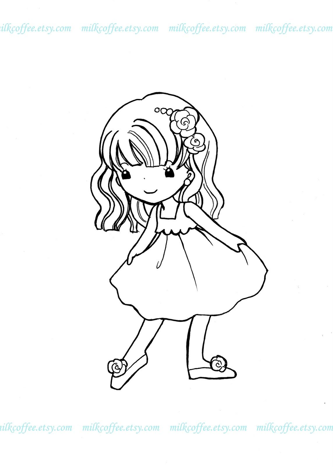 MilkCoffee Digi Stamps: Giveaway Event and Freebies