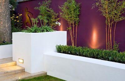 Coloured Planter Walls Google Search Garden Space Pinterest