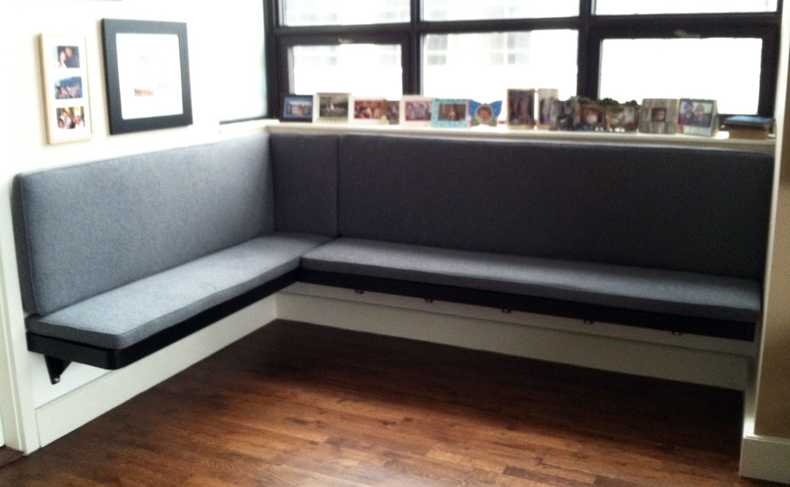 banquette bench kitchen building an outdoor build floating google search