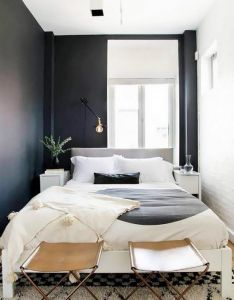 Smart decorating ideas for small bedrooms apartment therapy also so your bedroom   not much bigger than bed here how to make rh pinterest