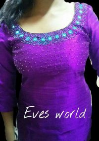 Pin by geethu joy on mirror work salwar | Pinterest ...