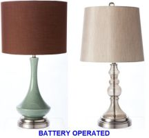 Battery operated cordless table lamps   Items in the home ...