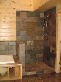 Curbless Shower Designs without Doors | Walk In Shower ...
