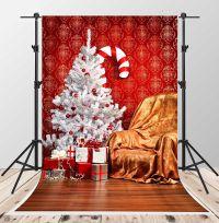 Amazon.com: Christmas Tree Backdrops for Photography White ...