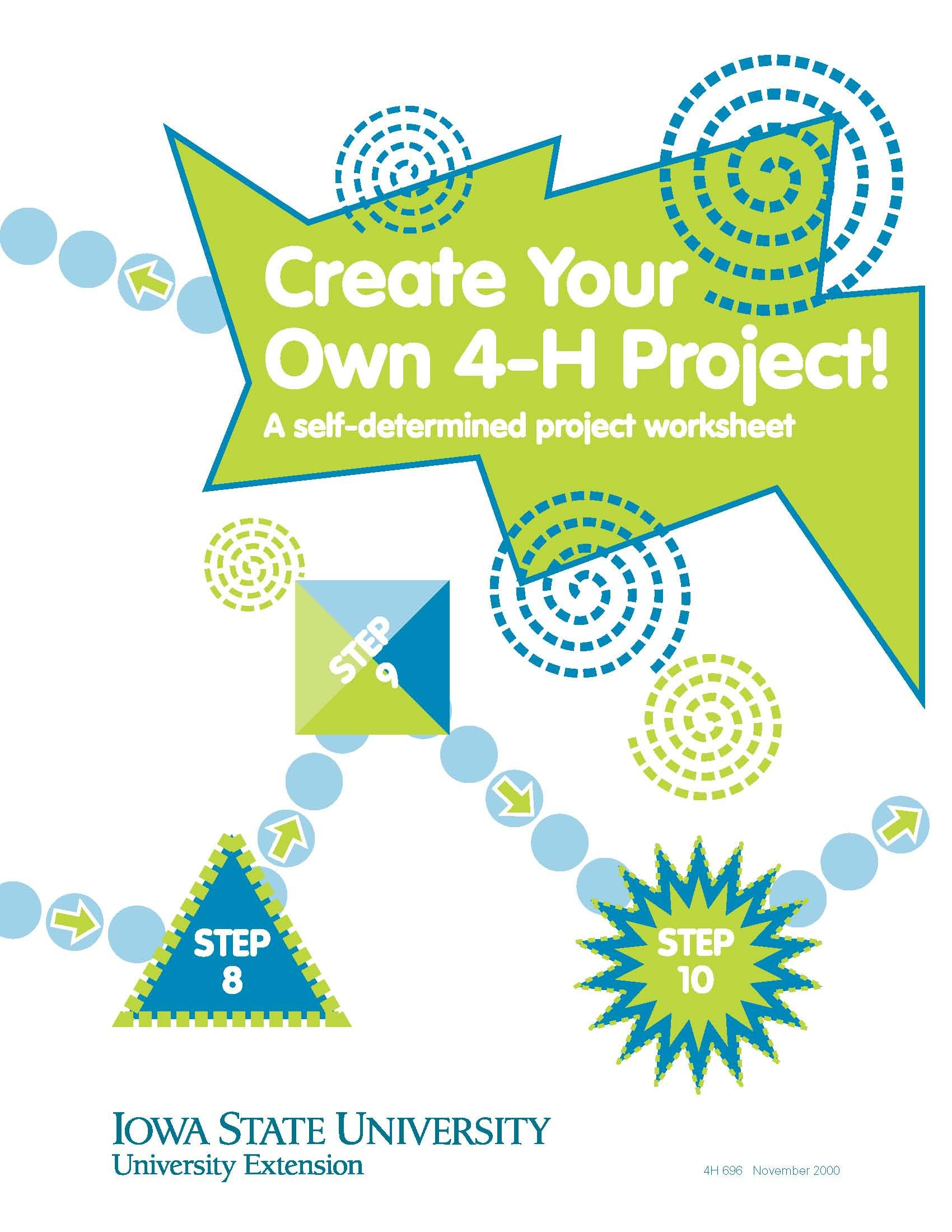 Create Your Own 4 H Project A Self Determined Project