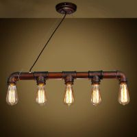 Copper Pipe Light Fixture