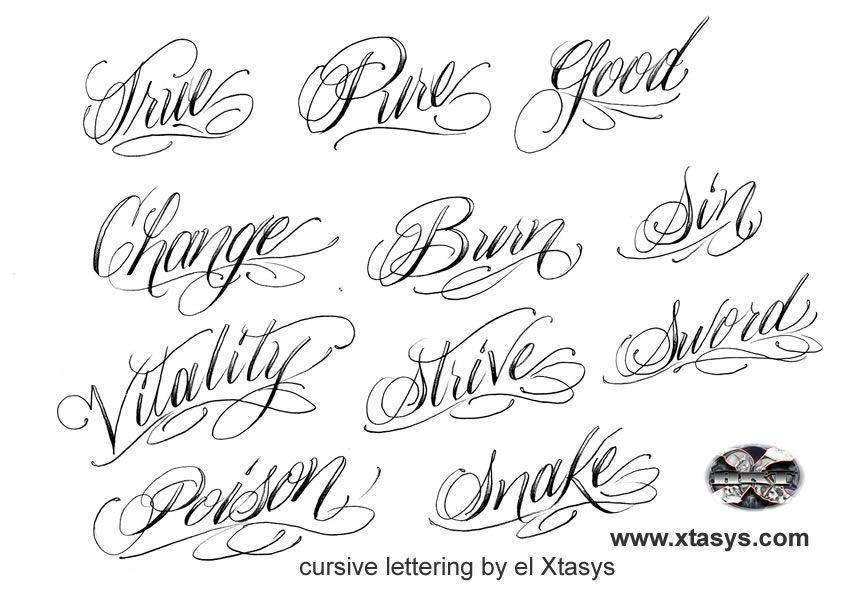 Tattoo Script Font Generator Free  Tattoo's Imagine