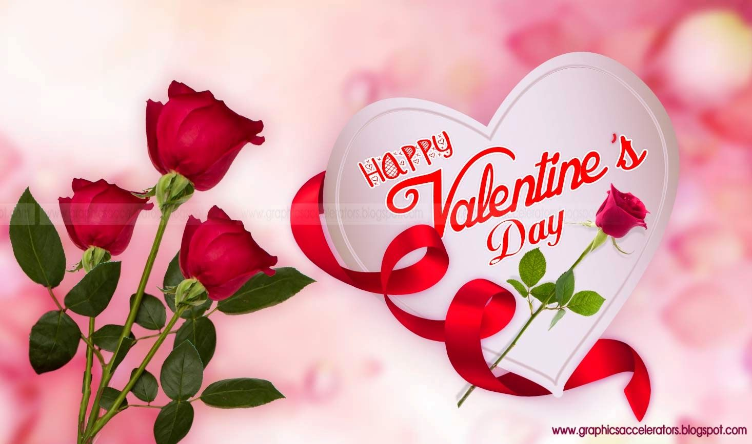 happy-valentines-day-white-heart-with-roses-bud-greeting-card