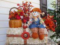 Outdoor Fall Decorations | Martha Stewart Fall Outdoor ...