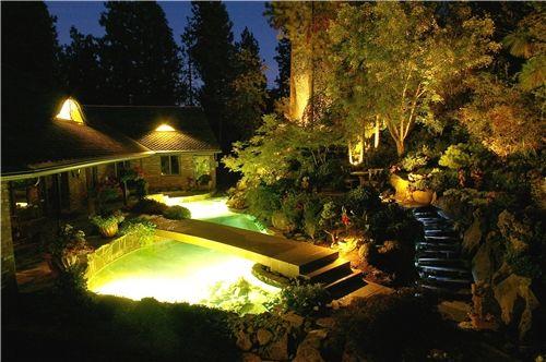 Pond Lights Lighting Land Expressions Mead WA Pond Ideas