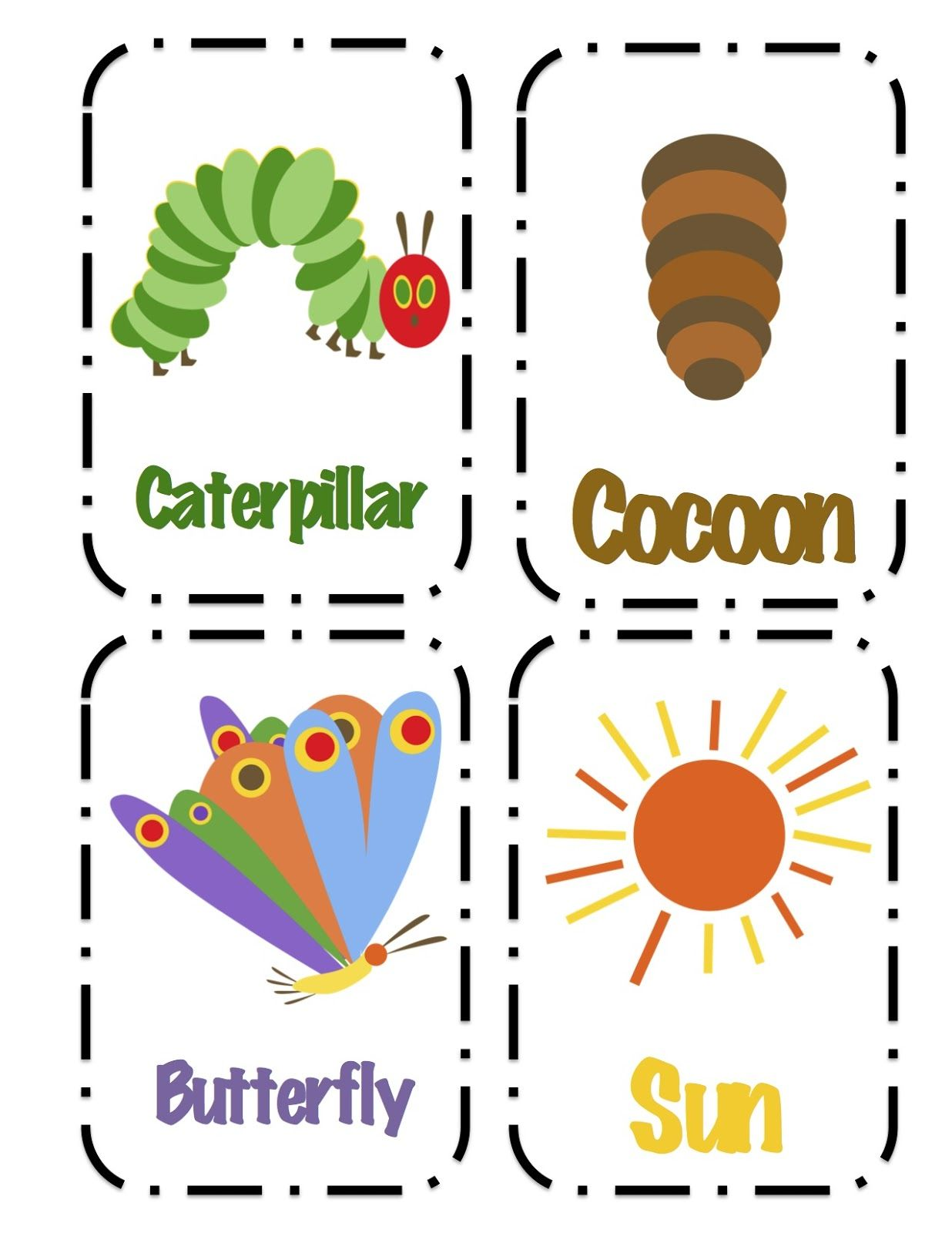 Preschool Printables Hungry Caterpillar