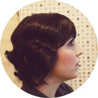 wedding hair chicago vintage hair wedding hairstyle short