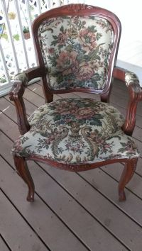 Victorian Tapestry Arm Chair On sale is by ...