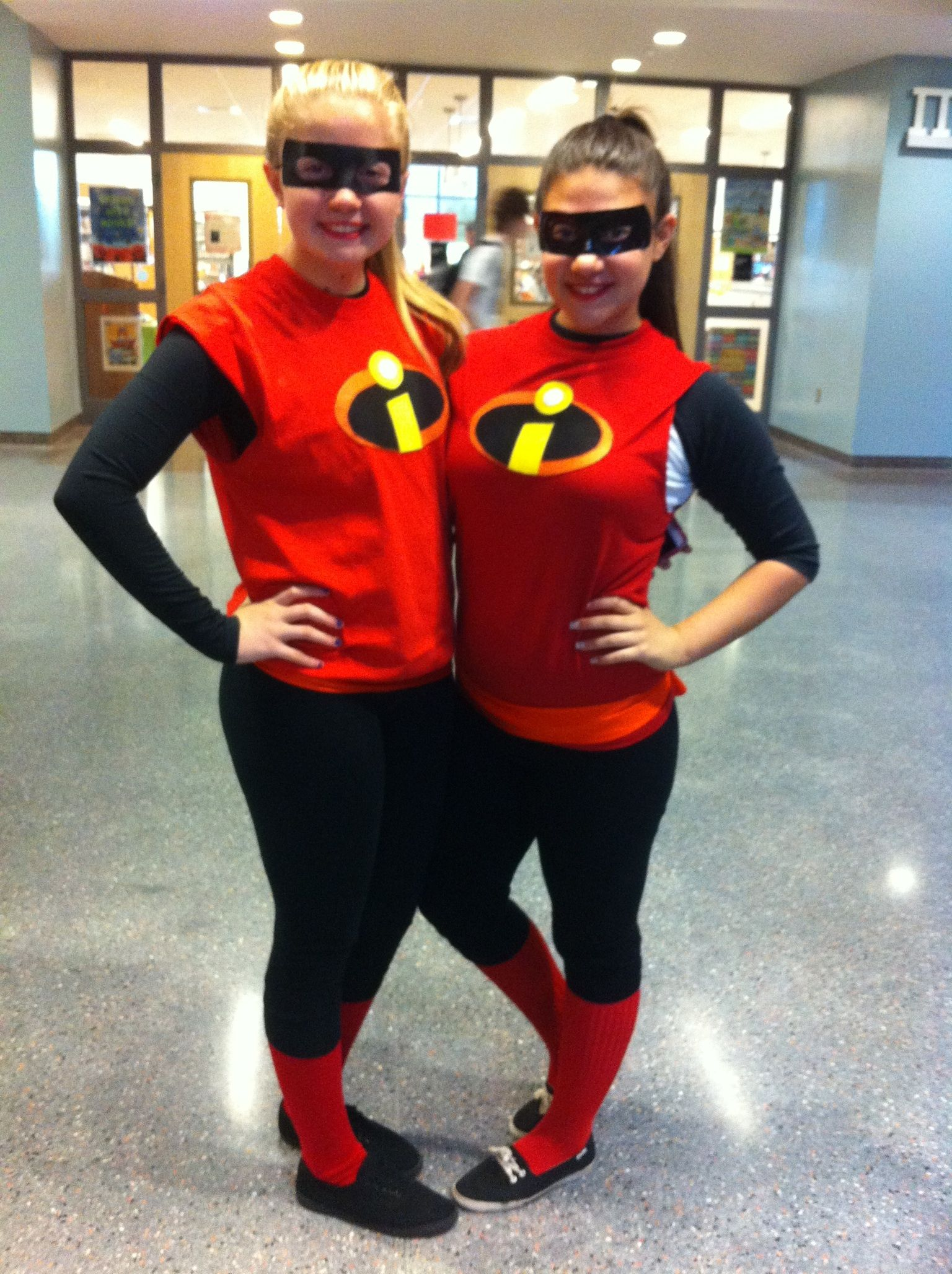 Make Your Own Halloween Costume, Be The Incredibles