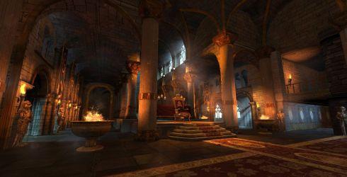 throne room artstation artwork fantasy hall wwe concept immortals king interior kings anime environment william app