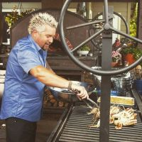 Guy Fieri outdoor kitchen   Home - Outdoor Living ...
